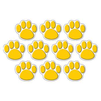 Gold Paw Prints Accents By Teacher Created Resources
