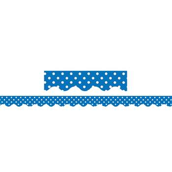 Blue Mini Polka Dots Border Trim By Teacher Created Resources
