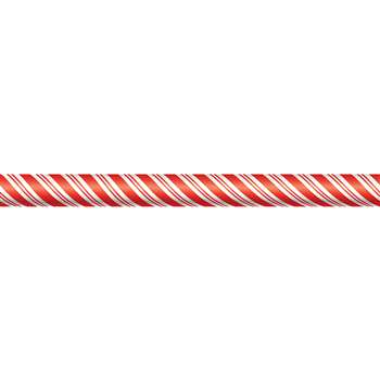 Candy Cane Straight Border Trim By Teacher Created Resources