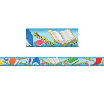 Reading Straight Border Trim By Teacher Created Resources