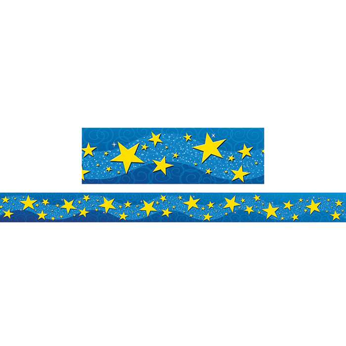 Starry Night Straight Border Trim By Teacher Created Resources