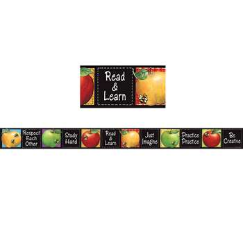 Sw Colorful Apples Straight Border Trim By Teacher Created Resources