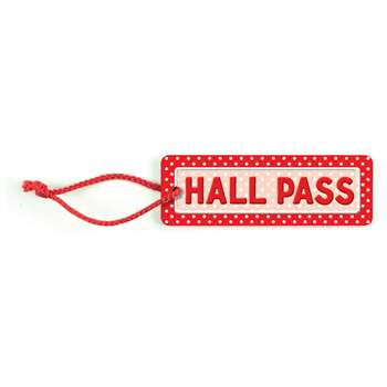 Polka Dots Hall Pass By Teacher Created Resources