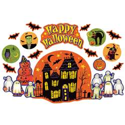 Sw Happy Halloween Bulletin Board Set By Teacher Created Resources