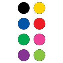 Colorful Circles Mini Stickers By Teacher Created Resources
