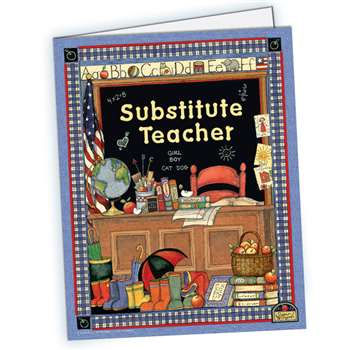 Sw Substitute Teacher Pocket Folder By Teacher Created Resources