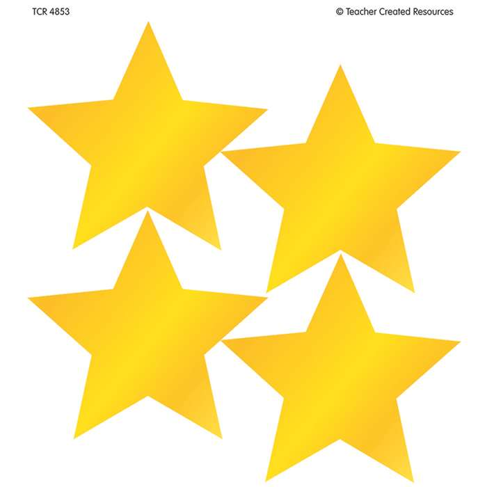 Gold Star Wear Em Badges By Teacher Created Resources