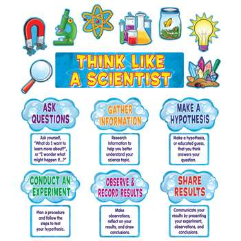 Think Like A Scientist Mini Bulletin Board Set By Teacher Created Resources