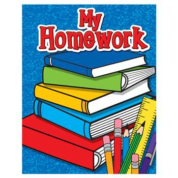 My Homework Pocket Folder By Teacher Created Resources