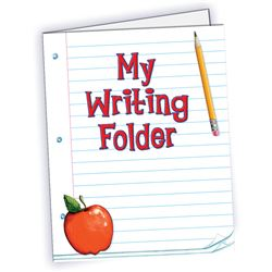 My Writing Folder Pocket Folder By Teacher Created Resources