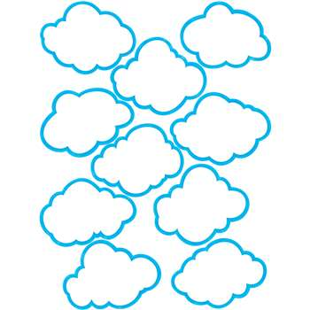 Clouds Accents By Teacher Created Resources