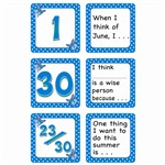 June Polka Dots Calendar Days Story Starters By Teacher Created Resources