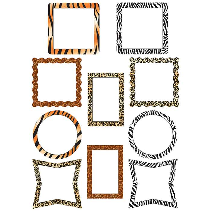 Picture Frame Animal Prints Accents By Teacher Created Resources