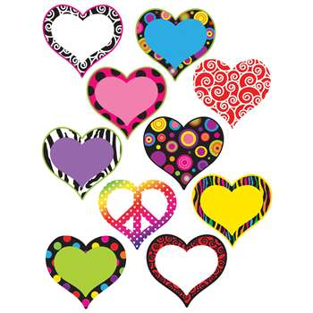 Hearts Accents By Teacher Created Resources