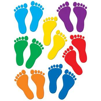 Footprint Accents By Teacher Created Resources