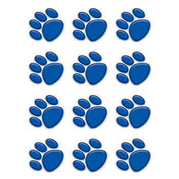 Blue Paw Prints Mini Accents By Teacher Created Resources