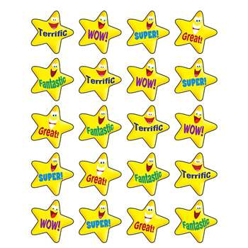 Encouraging Stars Stickers By Teacher Created Resources