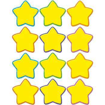 Yellow Stars Mini Accents By Teacher Created Resources