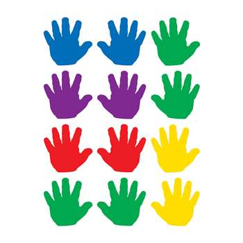 Handprints Mini Accents By Teacher Created Resources