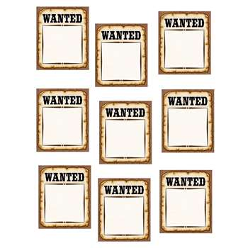 Western Wanted Posters Accents By Teacher Created Resources