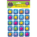 Colorful Stars Stickers Valu Pk 260 Header By Teacher Created Resources