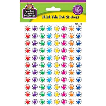 Helping Hands Mini Stickers Valu Pk 1144 Header By Teacher Created Resources