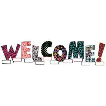 Welcome Bulletin Board Set By Teacher Created Resources