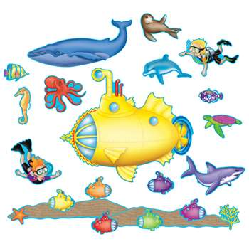 Under The Sea Bulletin Board Set, TCR5151