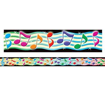 Musical Notes Straight Border Trim By Teacher Created Resources