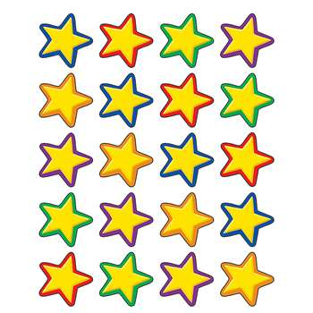 Yellow Stars Stickers By Teacher Created Resources