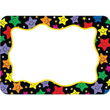 Happy Stars Name Tags Labels By Teacher Created Resources