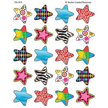 Fancy Stars Stickers By Teacher Created Resources