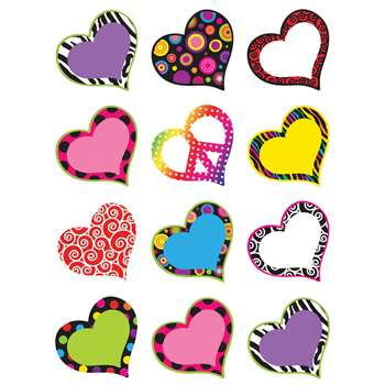 Hearts Mini Accents By Teacher Created Resources