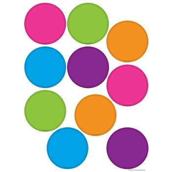 Bright Colors Circles Accents By Teacher Created Resources