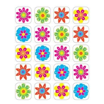 Fun Flowers Stickers By Teacher Created Resources
