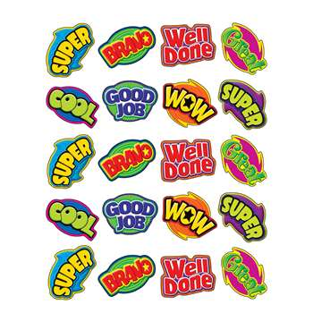 Positive Words Stickers By Teacher Created Resources