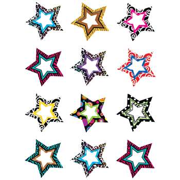 Fancy Stars Mini Accents By Teacher Created Resources