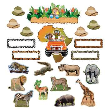 Safari Bulletin Bulletin Board Set By Teacher Created Resources