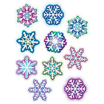 Snowflakes Accents By Teacher Created Resources