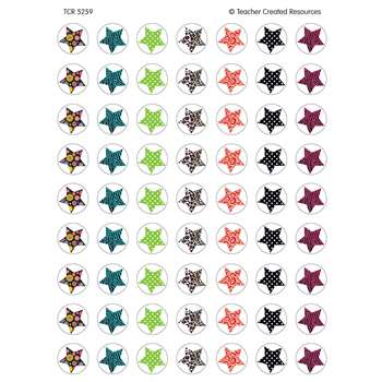 Fancy Stars Mini Stickers By Teacher Created Resources