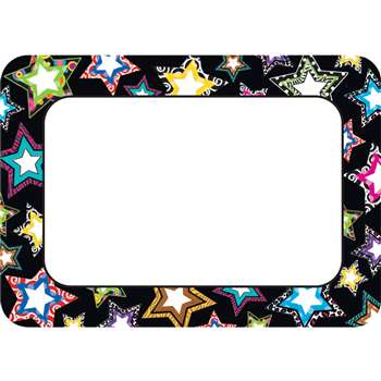 Fancy Stars Name Tags By Teacher Created Resources
