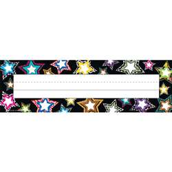 Fancy Stars Name Plates By Teacher Created Resources