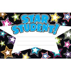 Fancy Stars Star Student Awards By Teacher Created Resources