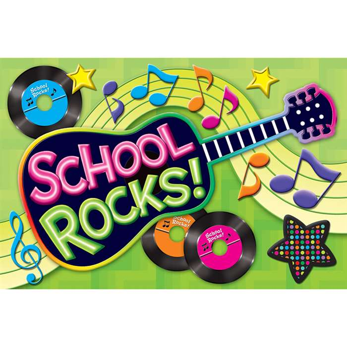 School Rocks Postcards By Teacher Created Resources