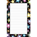 Fancy Stars Notepad By Teacher Created Resources