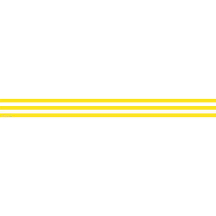 Yellow And White Stripes Straight Border Trim By Teacher Created Resources