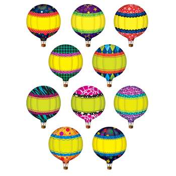 Hot Air Balloons Accents By Teacher Created Resources