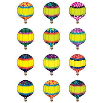 Hot Air Balloons Mini Accents By Teacher Created Resources