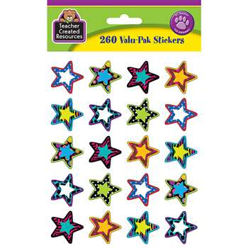 Fancy Stars 2 Stickers Valu Pk By Teacher Created Resources