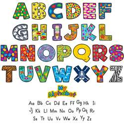 My Alphabet Mini Bulletin Board By Teacher Created Resources